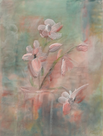 Memories of Giverny I by artist Rita  Adams