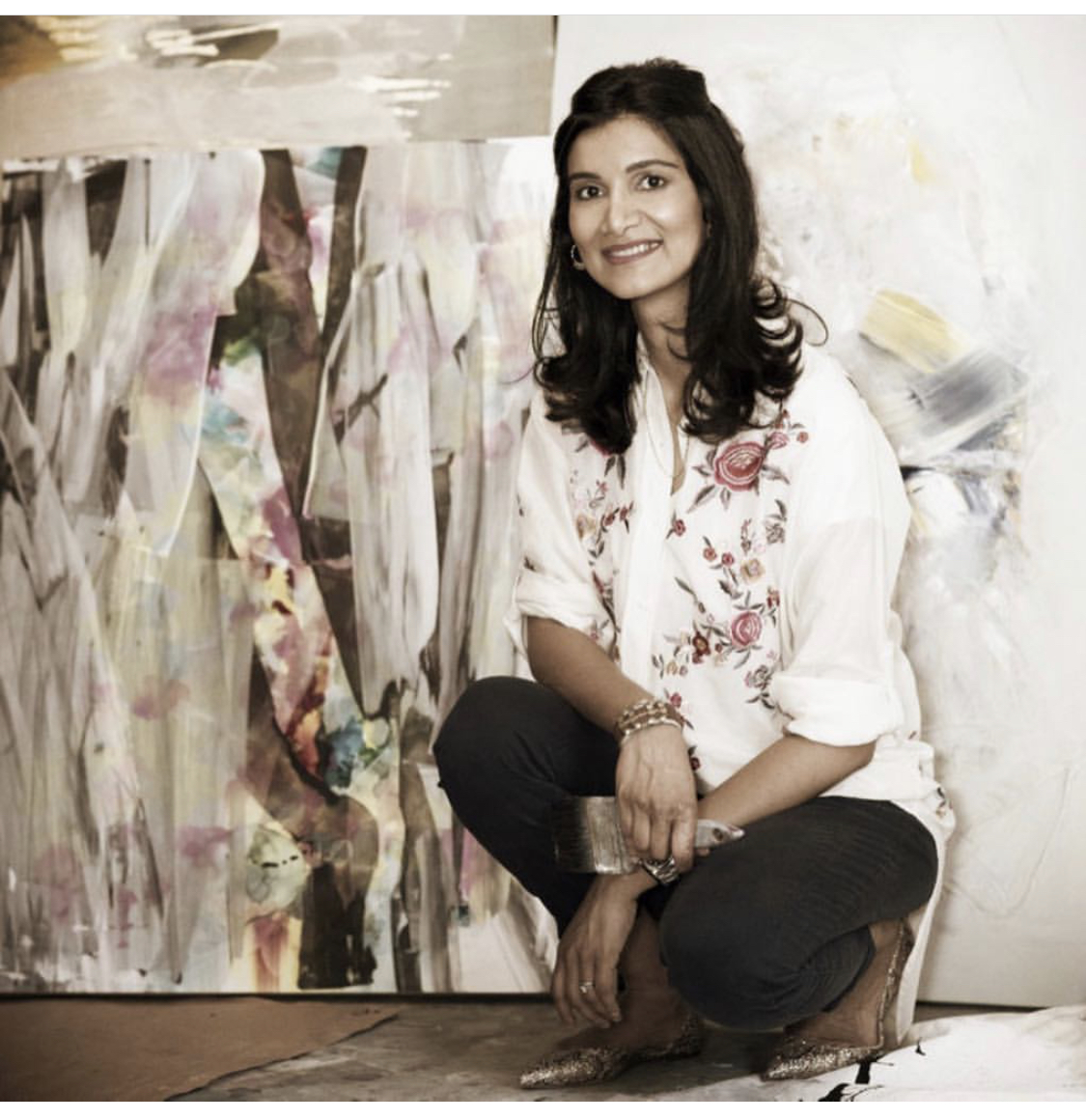 artist Umbreen Ahmad bio photo