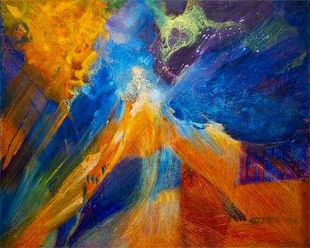 Dance of Light by artist Su Allen