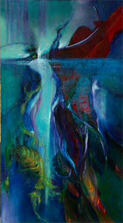 Deep Waters by artist Su Allen