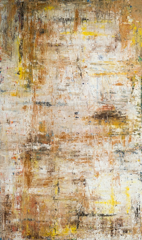 White, Gold, Yellow, Blue by artist Deborah Argyropoulos