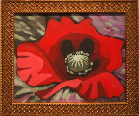 Poppy Spring by artist Stephanie Bradley