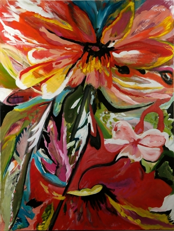 Flower Power by artist Mary Chriss