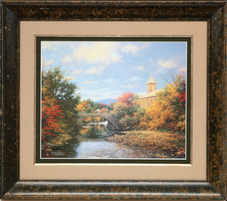 Autumn Sunrise by artist Larry Dyke