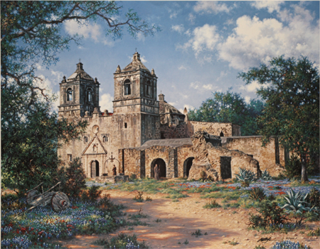 Mission Concepcion by artist Larry Dyke