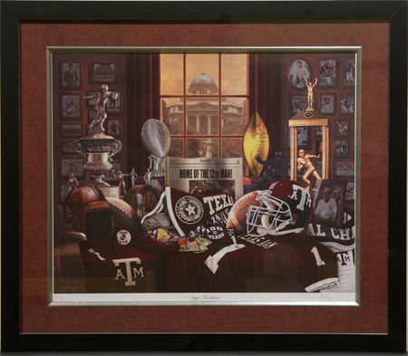 Aggie Traditions by artist Greg Gamble