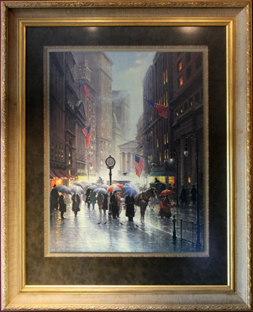 Canyon of Dreams - Wallstreet by artist G Harvey