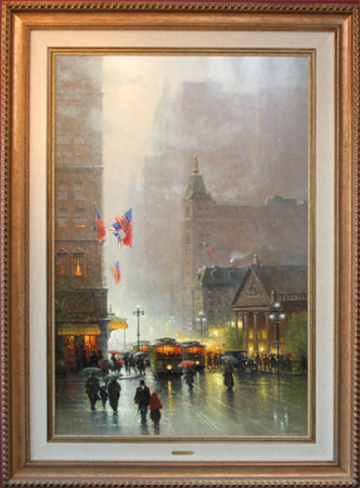 The Lights of Broadway by artist G Harvey