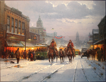 Trailhands and Trolleys by artist G Harvey
