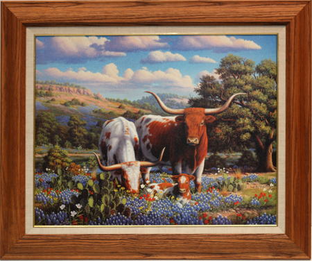 Texas Pride by artist Ronnie Hedge