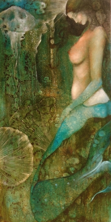 Mermaid Dreams by artist JudiBeth Hunter