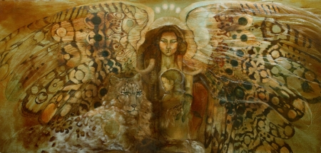 Spirit Tribe by artist JudiBeth Hunter