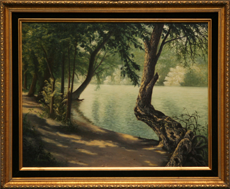 Shady Tranquility by artist K J Kelsheimer