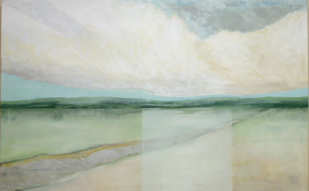 All Paths Follow to the Sea by artist Melissa Wen Mitchell-Kotzev