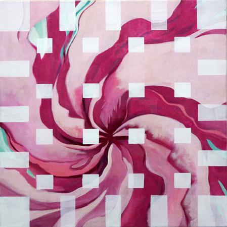 Flower to the 2nd Power by artist Melissa Wen Mitchell-Kotzev