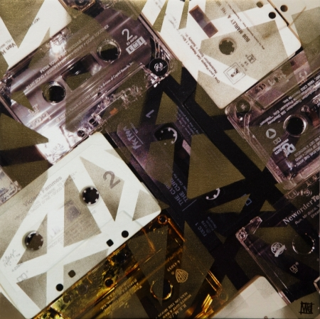 I Made You a Mixed Tape III by artist Melissa Wen Mitchell-Kotzev