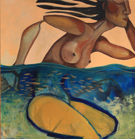 Sun and Sea by artist Melissa Wen Mitchell-Kotzev