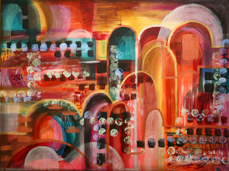 Eastern Arches by artist Candy Kultgen