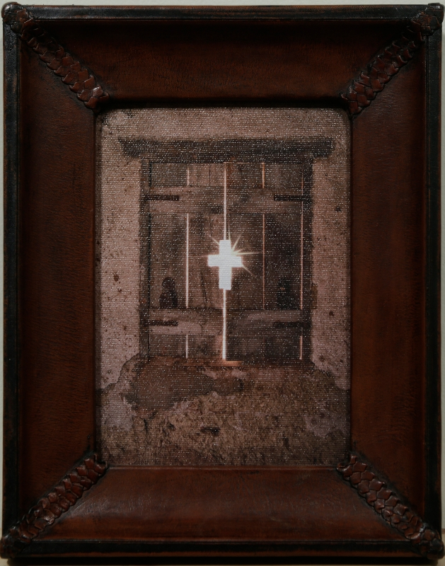 Window Cross by artist Derris Lanier