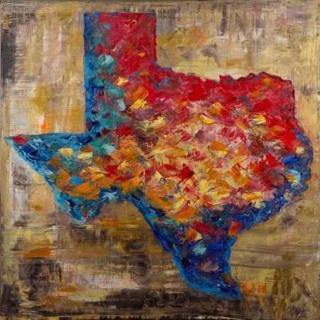 The Colors of Texas by artist Tanner Lawley