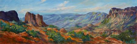 Big Bend by artist Ruth Meaders