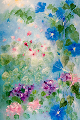 Early Morning Glory by artist Linda Rauch