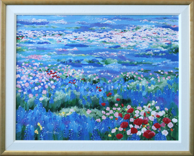 Oceans of Wildflowers by artist Linda Rauch