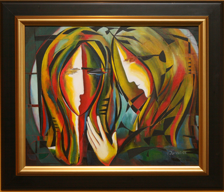 Mirror by artist Suman Sharma