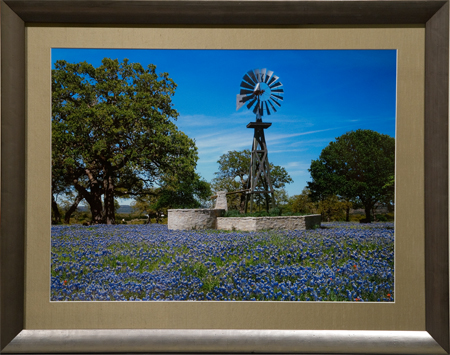 Wildflower Day in the Country by artist Randy Smith