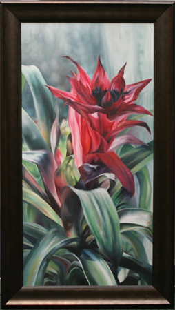 Bromeliad by artist bj thornton