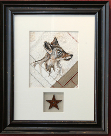 Coyote by artist bj thornton