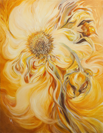 Dancing in the Sun by artist bj thornton