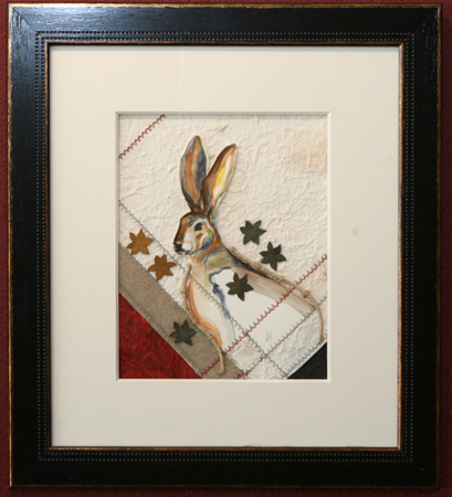 Jack Rabbit by artist bj thornton