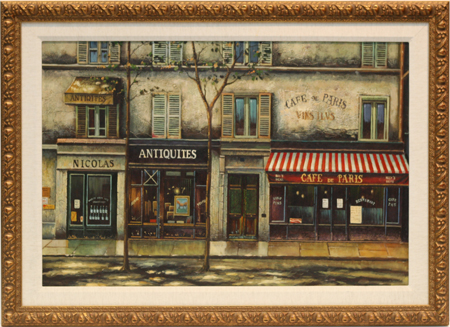 Cafe de Paris by artist Unknown Artist