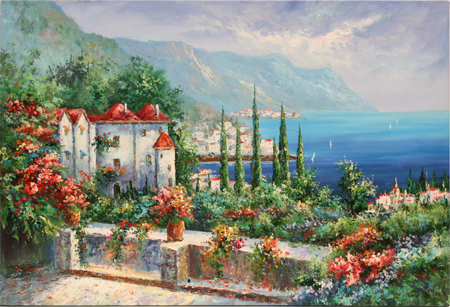 Seaside Vista by artist Unknown Artist
