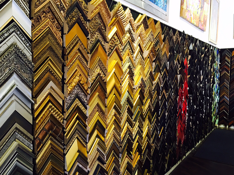 Frame Mouldings at Austin Art & Frame: Huge Selection from a Variety ...