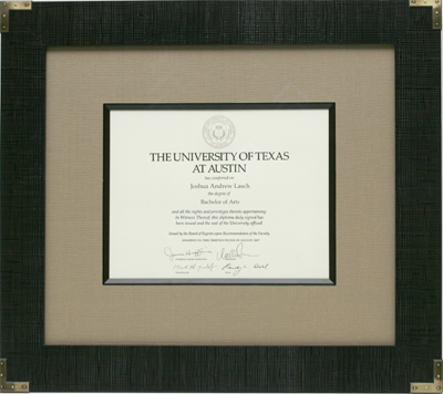Diploma and Certificate Framingy: Award Framing, Newspaper Article ...