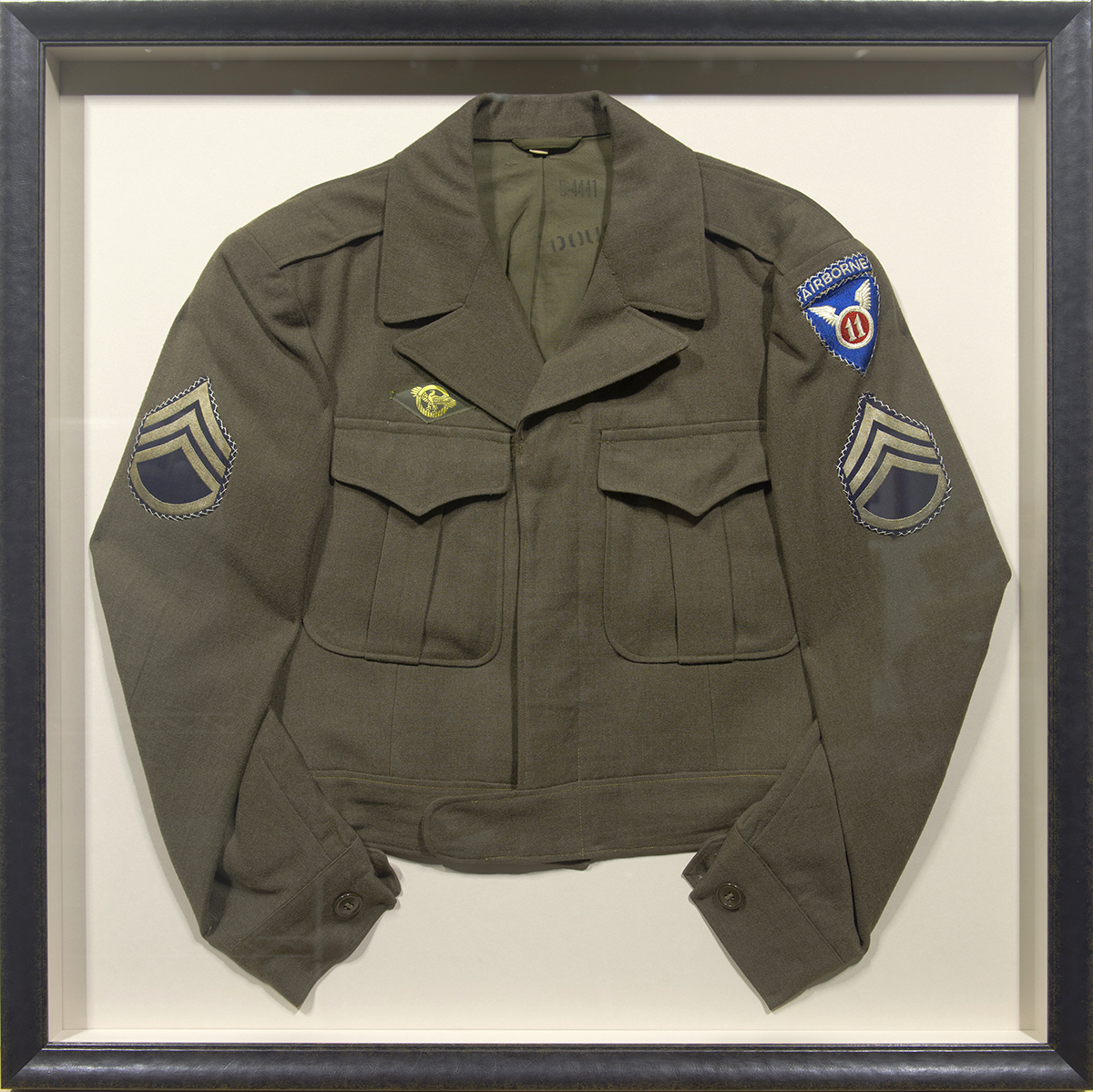 Military Uniform Shadowbox