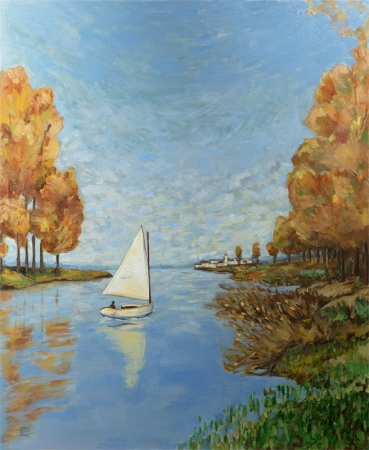 Monet Inspiration by artist Melissa Wen Mitchell-Kotzev
