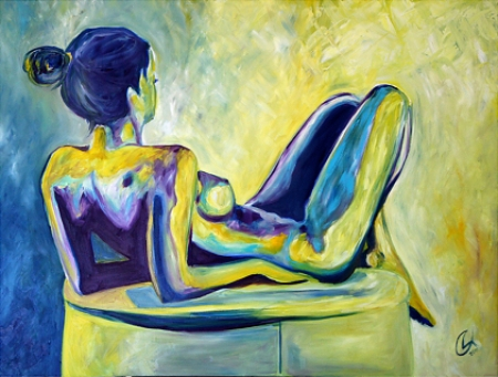 Day Dream Nude by artist Deborah Argyropoulos