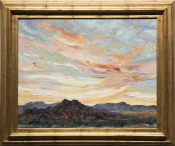 Desert Sunset Magic by artist Helen Armstrong