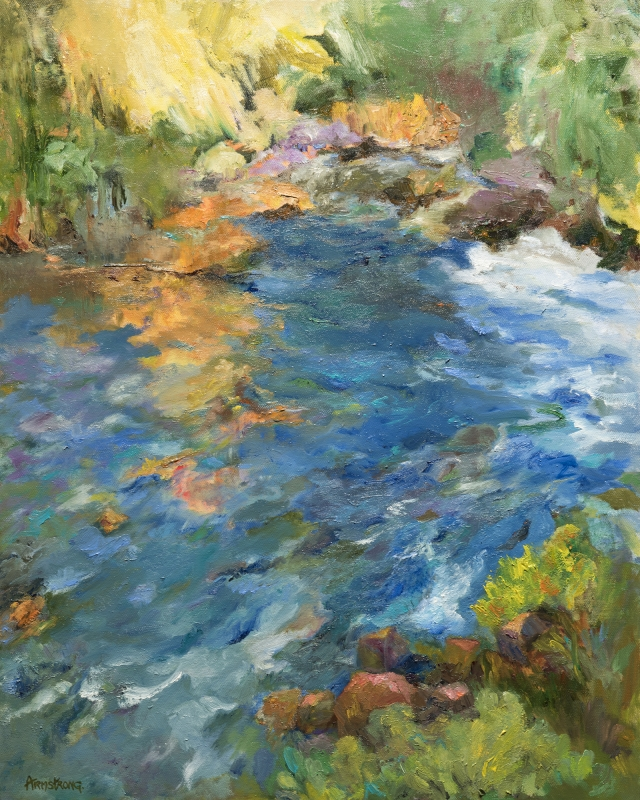 Quiet Waters by artist Helen Armstrong