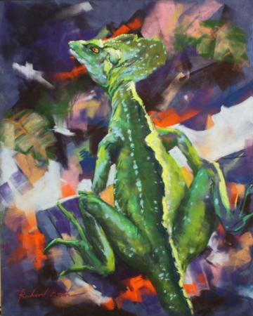 Green Dragon by artist Richard Banh