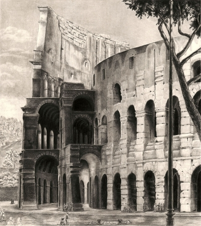 Colosseo by artist Norman Bean