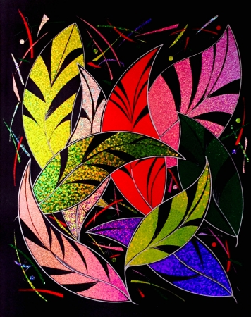 Colorful Leaves by artist Peter Bellonci