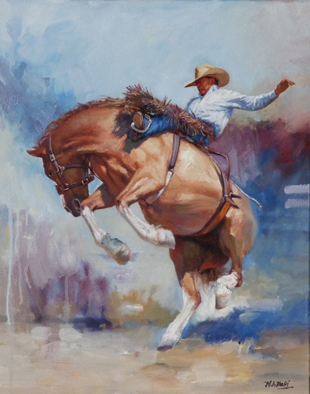 Yeehaw by artist Mohammad Ali Bhatti