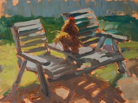 Cock Tails by artist Bruce Bingham