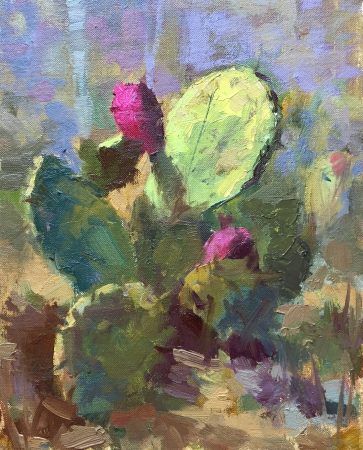 Prickly Pear by artist Bruce Bingham