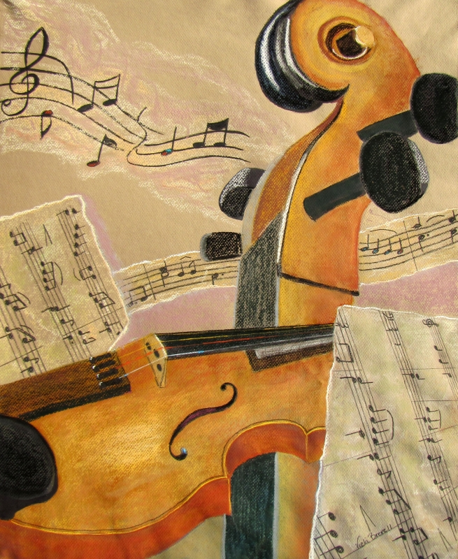 I Can Hear Music by artist Vicki Brevell