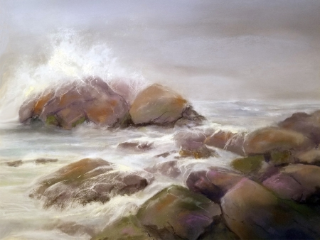 Ocean's Edge by artist Pamela Brocato